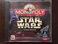Star Wars Edition Monopoly Game (PC, 1997)  Free shipping!