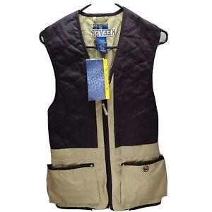 Beretta Shooting Vest, Beige, Medium, Clay Pigeon Trap Skeet MSRP: $210 GT041