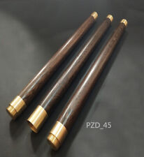 Portable Wushu Shaolin Sticks Hardwood Bo Staff Wenge Escrima Sticks