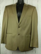 JOS A BANK 41R Signature Collection Tailored Fit Mens 2 Button Wool Jacket Beige