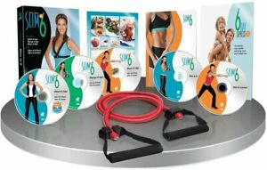 SLIM in 6 Rapid Results DVD Fitness Program with Sculpting Band & Bonus Workouts