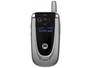 Motorola Moto V600 - Silve Unlocked Factory Mercedes Cell phone GSM Bluetooth