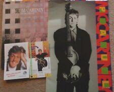 Paul McCartney - 1989/90 tour programme, ticket stub and tour magazine