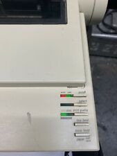 Apple ImageWriter II Printer A9M0310 Computer Mac Not Tested VTG BUT POWERS ON