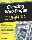 Creating Web Pages for Dummies Bud E Smith w/ Sealed CD NEW