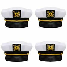 Captain's Yacht Sailors Hat () Captain's Hats are A Great Family Cruise 4 Pack