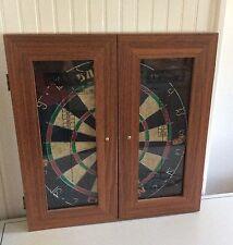 Unicorn Champion Dart Board in Wooden Case