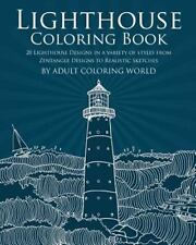 Lighthouse Coloring Book : 20 Lighthouse Designs in a Variety of Styles from ...