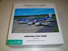 "1/200 Hogan Herpa ANA 747-400D ""Marine Jumbo"" JA8963 NH20059"