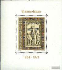 Luxemburgo Bloque 9 (edición completa) nuevo 1974 caritas