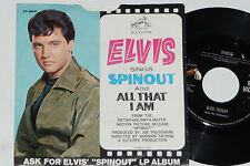 """ELVIS PRESLEY -Spinout / All That I Am- 7"""" 45 RCA Victor (47-8941) 1966"""