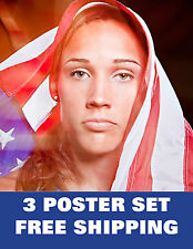 LOLO JONES olympics 2012 USA excercise gym sexy running london games  3 POSTERS