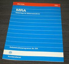 VW Passat 35i B3 MRA Heizanlage für  Motorrestwärme  SSP 154 Stand 06/1992