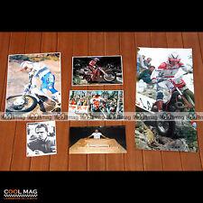 ★ JORDI TARRES ★ Pilote Moto TRIAL Photos Clipping 87-93 Pictures Magazine #DC87