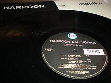"""Harpoon feat. Monika Gimme Love 12"""" VINYL Italodance Massimo Barri C Trouble J"""