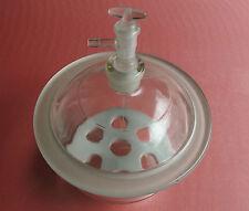 240mm Glass Vacuum Desiccator Jar,24cm Dessicator Dryer, Porcelain Plate & Valve