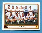 CALCIATORI PANINI 1983-84 Figurina-Sticker n. 454 - BARI SQUADRA -New