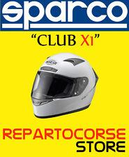 CASCO PER MOTO SPARCO - MODELLO CLUB X1 BIANCO - TAGLIA XS - 003319