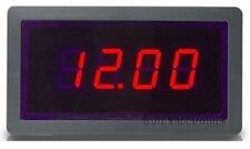 *USA* 3½ 5v Voltmeter Digital Red LED 0~20V DC Volt Panel Meter