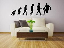 Evolution - Basketball - Large Vinyl Wall Stickers High Quality Decal NEW UK