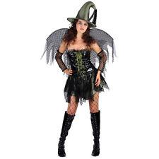 Sexy Fata Gotica Strega Costume Halloween Costume Piccolo Ridotto a Trasparente