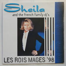 "MAXI 12"" SHEILA and the french family dj's Les rois mages 98"