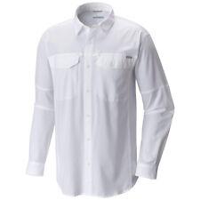 Columbia Silver Ridge Men's Long Sleeve Shirt Vented White Travel Hiking Regular 2xl