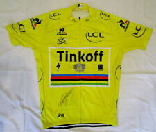 Peter Sagan signed 2016 Tour de France yellow cycling jersey Tinkoff