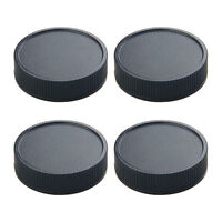 4 Pcs Camera Rear Cap Cover For Leica R R3 R4 Replacement Parts