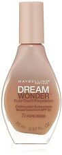 LOT of 7 - Maybelline Dream Wonder Foundation, Fluid Touch, #70 Pure Beige