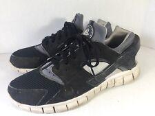 🔥Nike Huarache Free 2012 Black / White / Grey Men Sz 11 (487654-012)