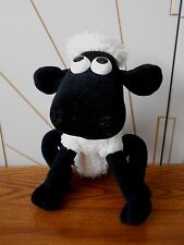 SHAUN THE SHEEP vintage soft toy, plush WALLACE & GROMIT Born To Play 1989