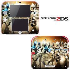 Vinyl Skin Decal Cover for Nintendo 2DS - Star Wars Clone Wars Trooper