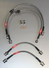 CREATIONS MOTORSPORT VW GOLF MK4  AUDI A3 SEAT LEON  BRAIDED BRAKE LINES BL07