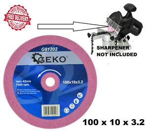 100 x 10 x 3.2mm Grinding Disc - Chainsaw Sharpening Blade Chain Saw Sharpener