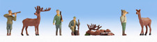 Noch 36731 Hunters (x4) & Prey (x3) Figure Set N Gauge