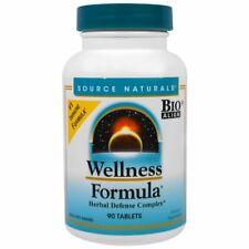 Source Naturals, Wellness Formula, Herbal Defense Complex, 90 Tablets