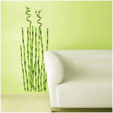 Großer Wandsticker Bambus Wandtattoo Bamboo Wandbild Wanddeko Baum Pflanze
