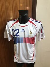 Maillot Foot Ancien Equipe De France 2006 Numero 22 Ribery Taille XL