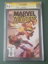 Marvel Zombies #4 - Variant edition - CGC SS 9.6 - Signed by Arthur Suydam Rare
