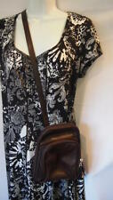 Osgoode Marie Purse Brown Over The Shoulder Handbag Small Satchel Cross Body