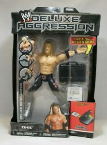 WWE Deluxe Aggression Edge w/ Action Accessory Series 2 Jakks Pacific