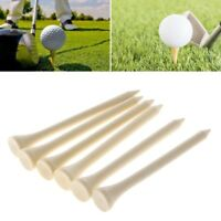 10pcs Wood Wooden Professional Golf Tees Training Accessories 7cm Outdoor Tools
