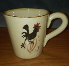 Vintage Ceramiche IL Nodo Rustic Rooster Mug Made In Italy