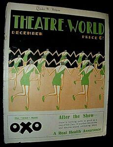 BOVEY. ART DECO ILLUSTRATOR. ORIGINAL MAGAZINE DECEMBER 1926. COVER ARTWORK