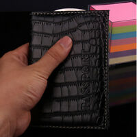 New Travel Utility Simple Passport Cover Holder Case Protector Skin Leather FF