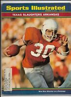 A Sports Illustrated Magazine ~ December 14 1970 ~ Wow Woo Worster Texas Footbal