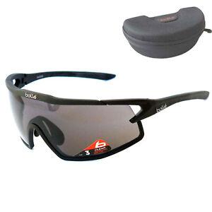Bollé B-ROCK Men's Sunglasses Cycling Sport Black 12185 Size L - Sale
