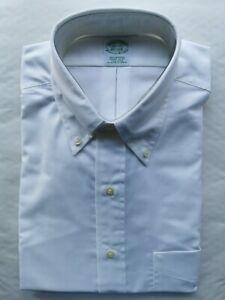 "Brooks Brothers Original Polo Button-Down Oxford Dress Shirt Milano 16.5"" / 35"""
