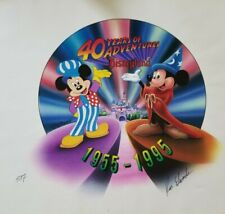 Disneyland Limited Edition Art-Watch 40th Anniversary Disney Artist Ken Edwards